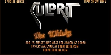 CULPRIT Opening for Last In Line tickets