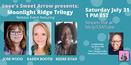 Moonlight Ridge Trilogy Virtual Release Event tickets
