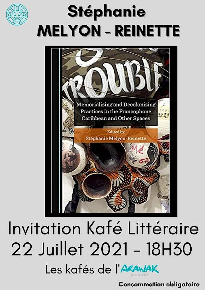 Image pour Café littéraire Stéphanie Mélyon Reinette