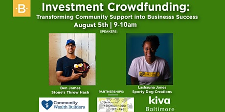 Investment Crowdfunding: Transform Community Support into Business Success tickets