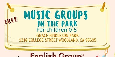 Music Groups- Free/ Grupos de Música- Gratis tickets