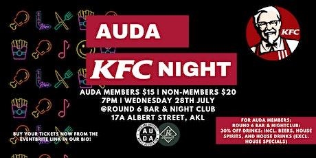 AUDA KFC NIGHT!!! tickets