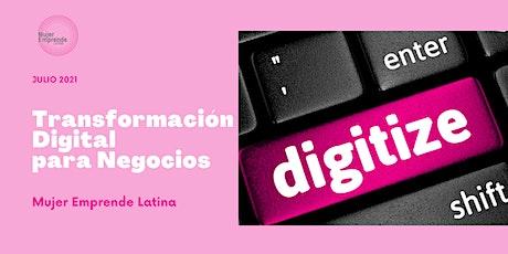 Transformación Digital para Pequeñas Empresas entradas