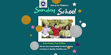 Children Sunday School Service tickets