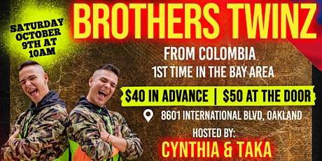 Zumba® Master Class with the Brothers Twinz  in Oakland tickets