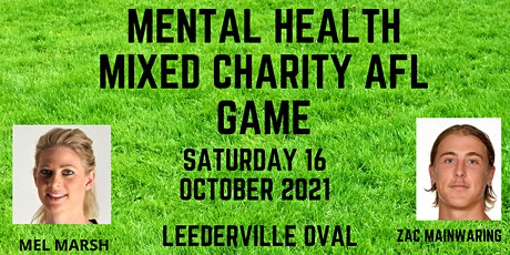 Mixed Mental Health Charity AFL Game tickets
