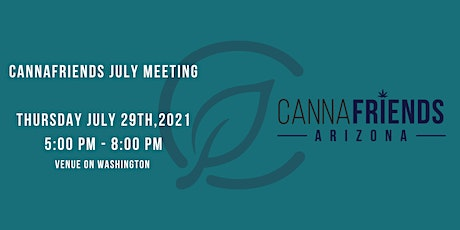 Cannafriends July Meeting tickets