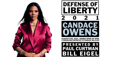 DEFENSE OF LIBERTY: CANDACE OWENS  - VIP DINNER tickets