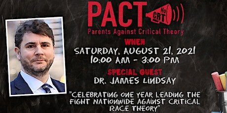 """""""PACT to School"""" featuring Dr. James Lindsay! tickets"""