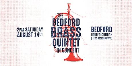 Bedford Brass Quintet in Concert tickets