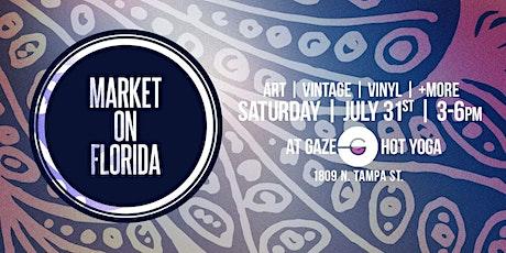 Market on Florida at Gaze Hot Yoga tickets
