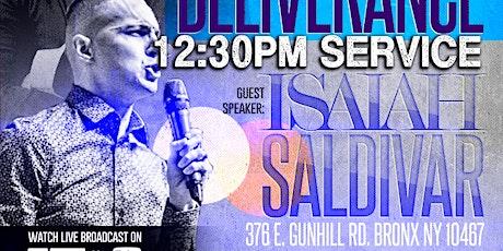 Mass Deliverance w/ Isaiah Saldivar (12:30pm) tickets