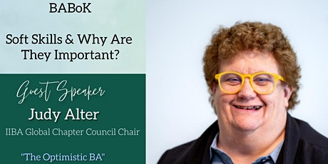 """""""Soft Skills & Why Are They Important"""" with Judy Alter tickets"""