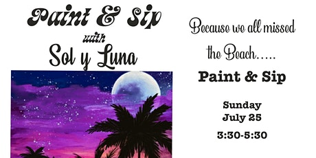 Because we miss the Beach Paint Night tickets