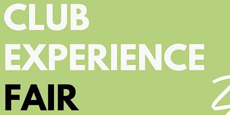 Club Experience Fair tickets