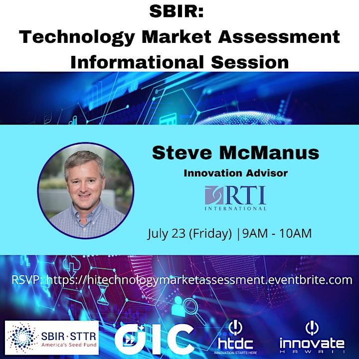 Technology Market Assessment Informational Session image