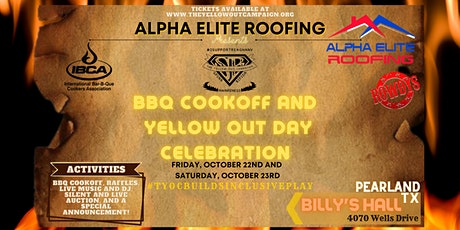 Alpha Elite Roofing Presents TYOCs BBQ Cookoff & Yellow Out Day Celebration tickets