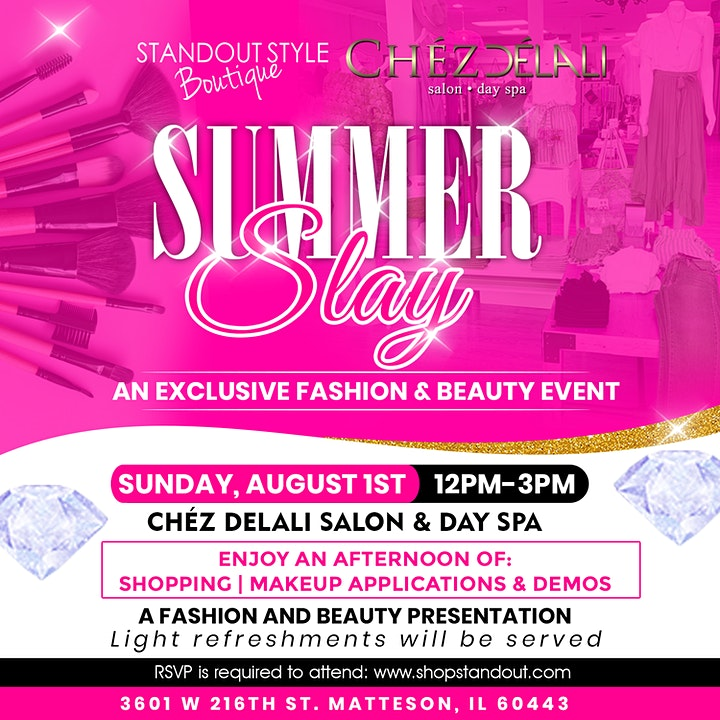 Summer Slay: A Fashion & Beauty Presentation image