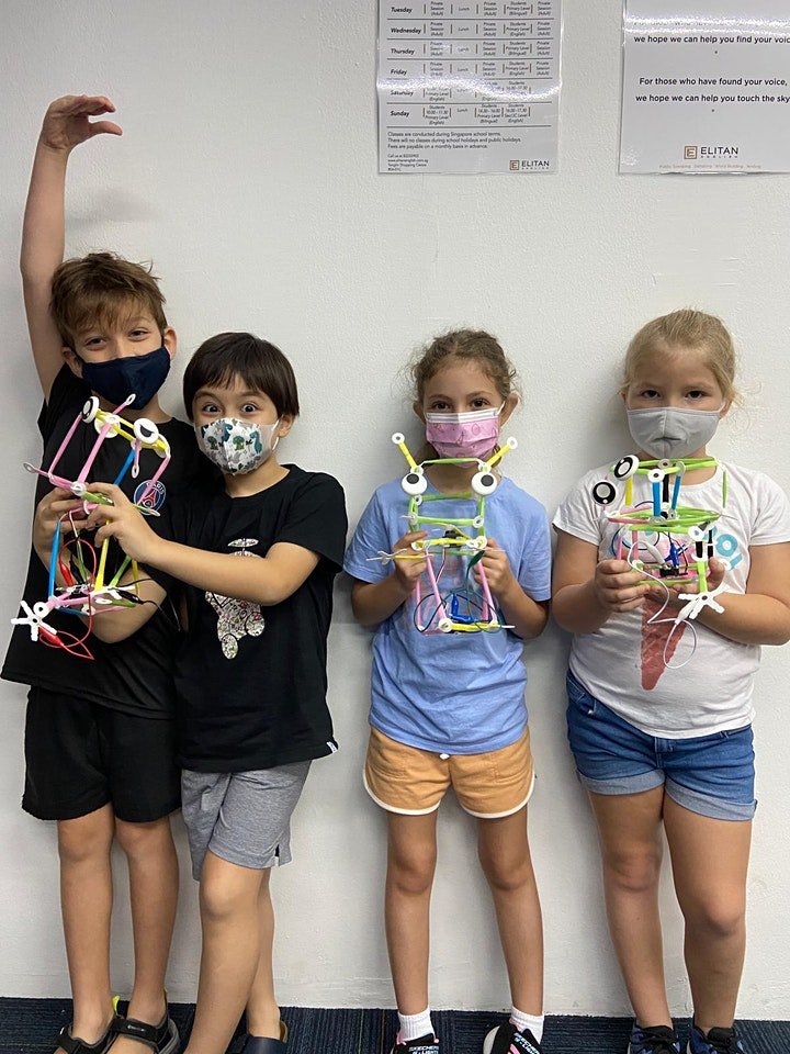 Elon Musk-Inspired Strawbees Coding Camp For Ages 6 to 10 image