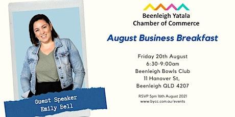 BYCC August Business Breakfast tickets