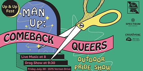 Man Up Pride: Comeback Queers! tickets
