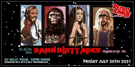 Damn Dirty Apes (70's, 80's, 90's Covers) tickets
