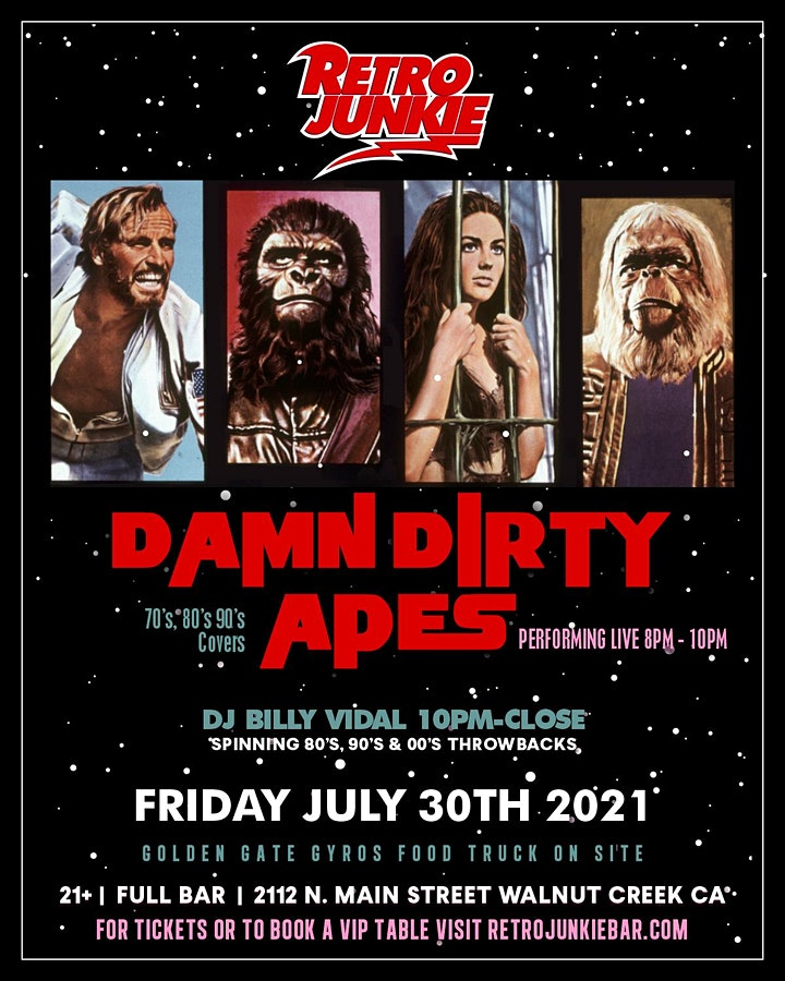 Damn Dirty Apes (70's, 80's, 90's Covers) image