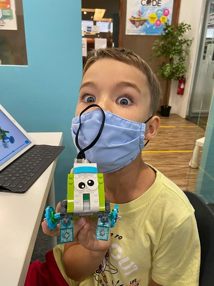 Outer Space Coding & Robotics Camp. For Ages 4 to 7 image