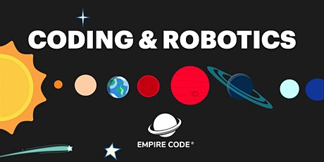 Outer Space Coding & Robotics Camp. For Ages 4 to 7 tickets