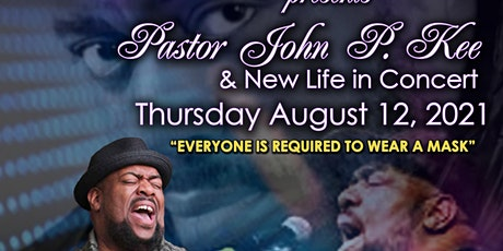 OCE Welcomes John P. Kee Live in Concert tickets