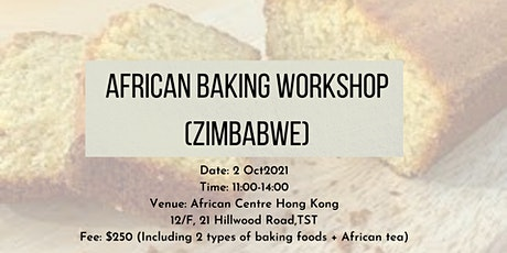 African Baking Workshop (Zimbabwe) tickets