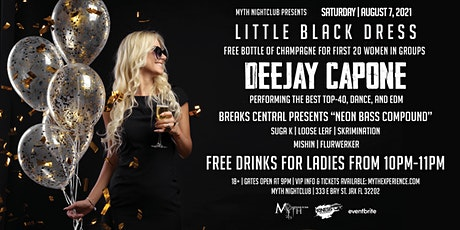 Saturday Night - LITTLE BLACK DRESS at Myth Nightclub | Saturday 08.07.21 tickets