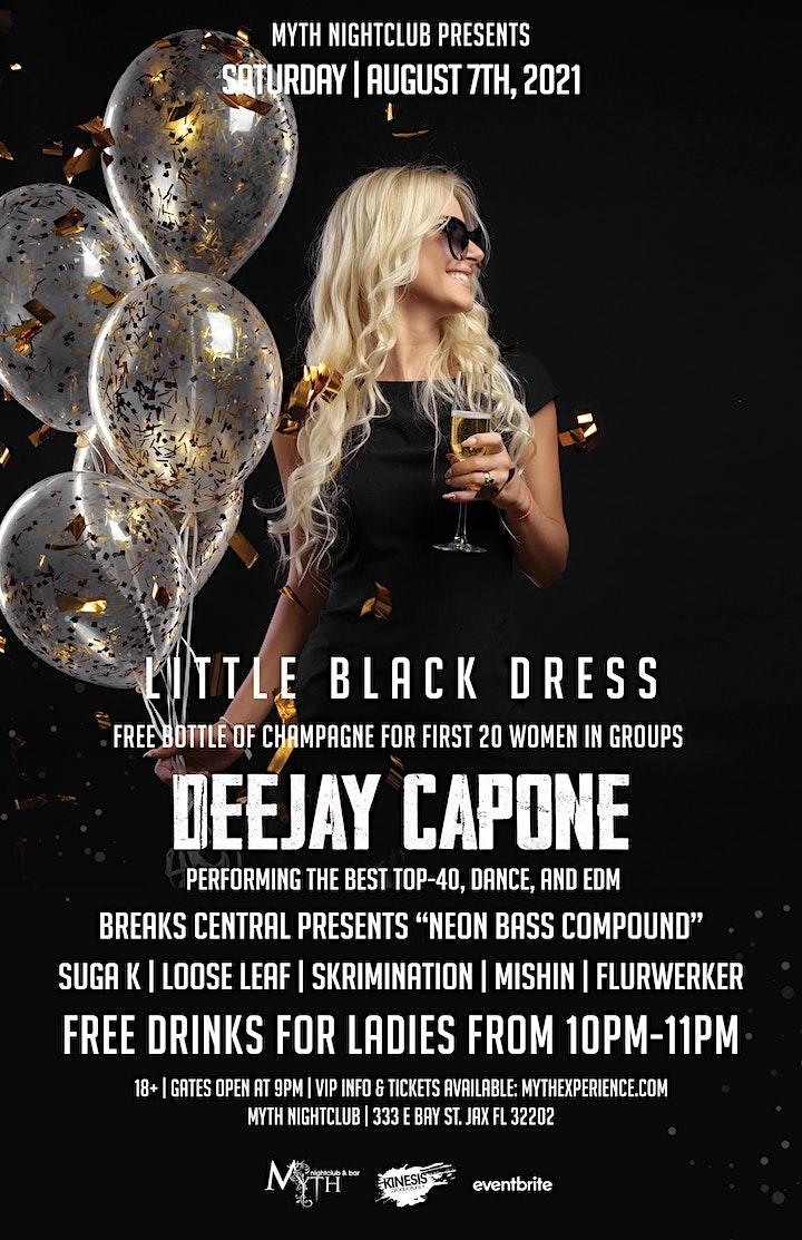 Saturday Night - LITTLE BLACK DRESS at Myth Nightclub   Saturday 08.07.21 image