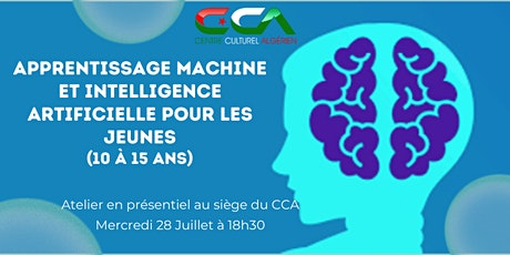 Atelier: Apprentissage machine et intelligence artificielle pour les jeunes tickets