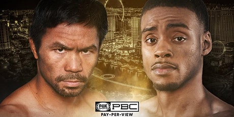 Pacquiao vs Spence tickets