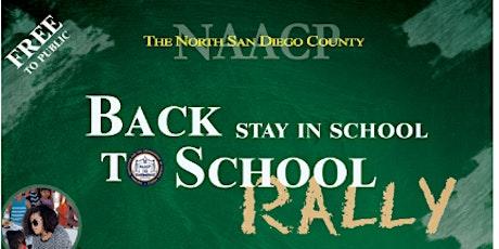 2021 Back 2 School Stay In School Rally tickets