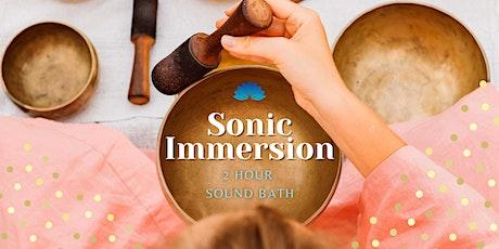 Half-Price  Sonic Immersion: 2hr Sound Bath tickets
