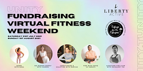 Unity - Fundraising Virtual Fitness Weekend for RFTR tickets