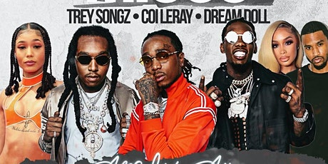All white affair featuring COILERAY,Trey songz 'Migos and dream doll tickets