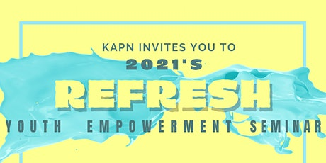 2021 Youth Empowerment Seminar: Refresh tickets