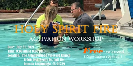 Holy Spirit Fire Activation Workshop tickets