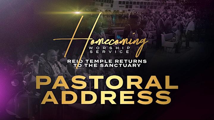 Reid Temple Homecoming: Return to the Sanctuary image