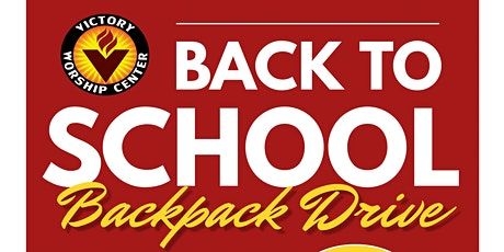 Victory Worship Center: Backpack Pickup tickets