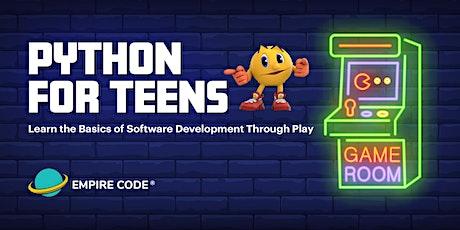 Python Basics Camp For Teens tickets