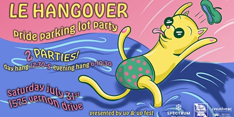 Le Hangover DAY HANG! Pride Parking Lot Party tickets