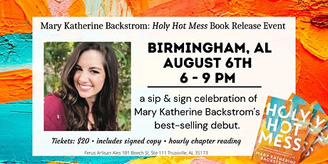 Sip & Sign with Mary Katherine Backstrom at FERUS ARTISAN ALES tickets