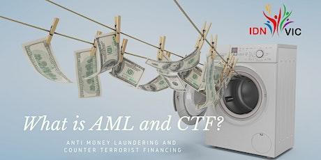 Anti Money Laundering (AML) dan Counter Terrorism Financing (CTF) tickets