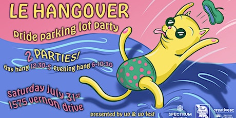 Le Hangover EVENING HANG! Pride Parking Lot Party tickets