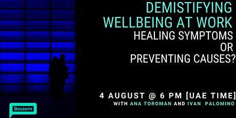 Wellbeing at work: Leadership solutions to transforming workplaces tickets