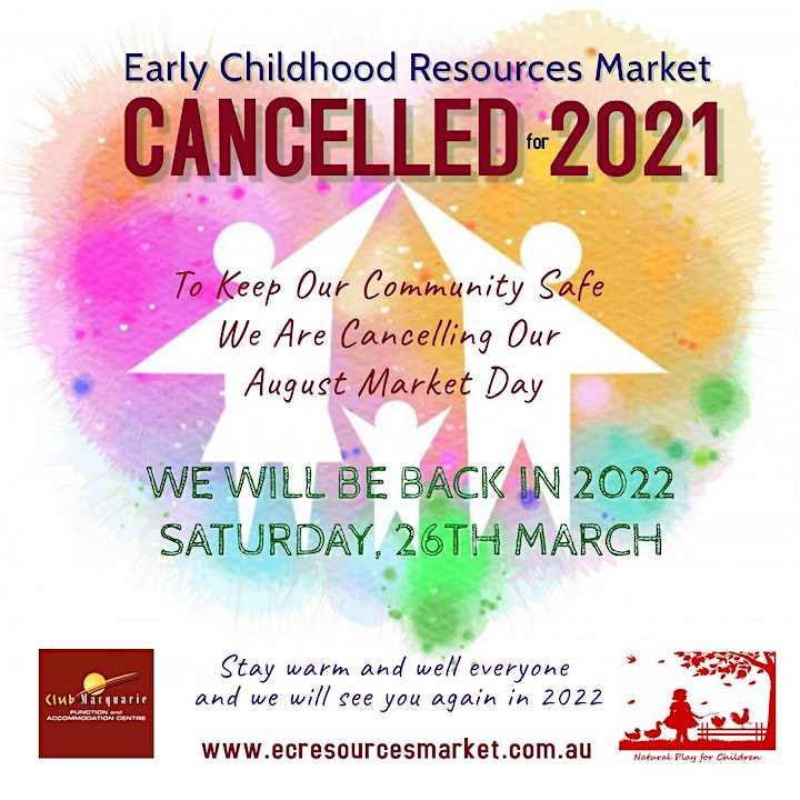 Newcastle Early Childhood Resources Market - AUGUST ECRM2021 image